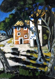 Auguste Chabaud - haus in der wald