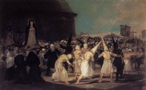 Francisco De Goya - Prozession Flagellanten