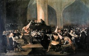 Francisco De Goya - Inquisition Szene