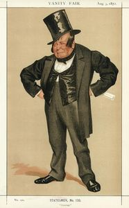 James Jacques Joseph Tissot - Karikatur von james delahunty m . P .