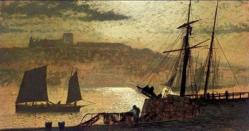 Whitby von John Atkinson Grimshaw (1836-1893, United Kingdom)