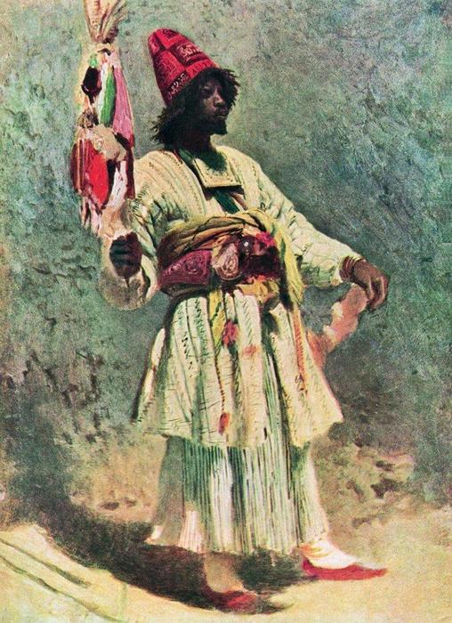 Dervish von Konstantin Makovsky (1839-1915, Russian Empire)