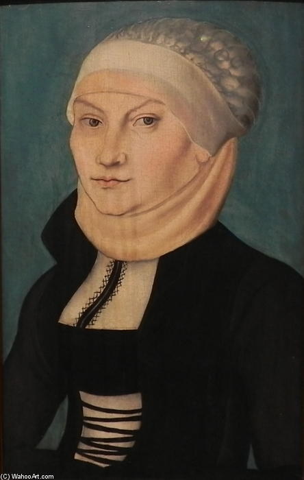 katharina von bora, 1528 von Lucas Cranach The Elder (1472-1553, Germany)