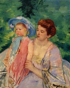 Mary Stevenson Cassatt - Schiff bad