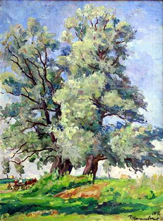Willows, 1947 von Pyotr Konchalovsky (1876-1956, Russia)