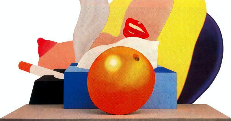 great american nude nein 99   von Tom Wesselmann (1931-2004, United States)