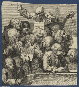 William Hogarth - Der Chorus