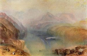 William Turner - see luzern