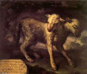 Bartolomeo Bimbi - Two-Headed Lamb