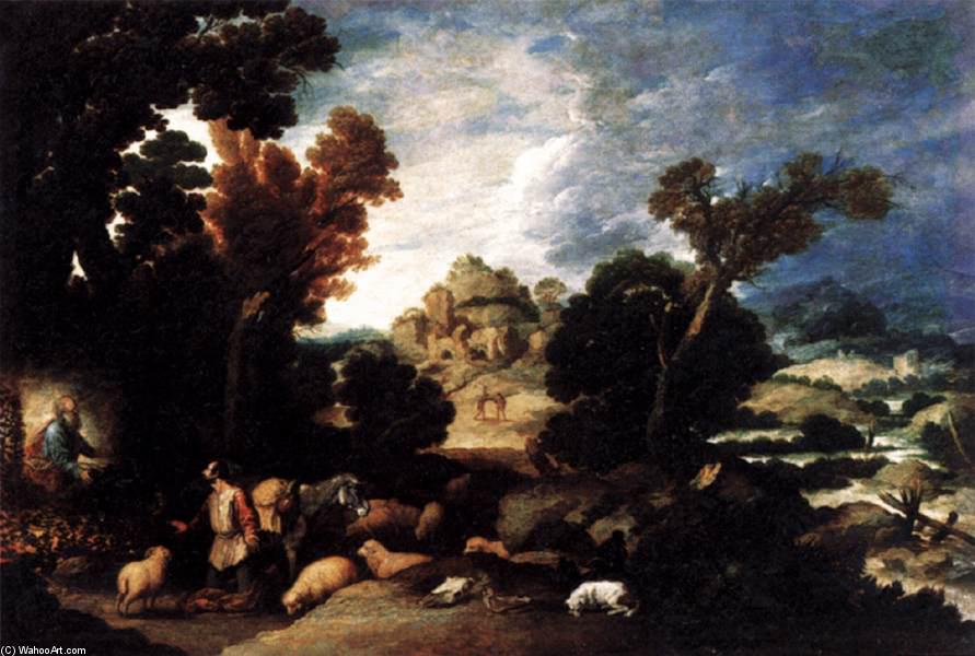 The Burning Bush, 1634 von Francisco Collantes (1599-1656, Spain) | ArtsDot.com