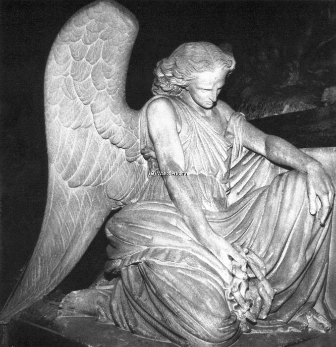 Angel of Grief, stein von Auguste Clésinger (1814-1883, France)