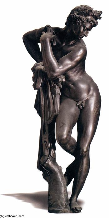 Apollo, bronze von Giambologna (1529-1608, France)