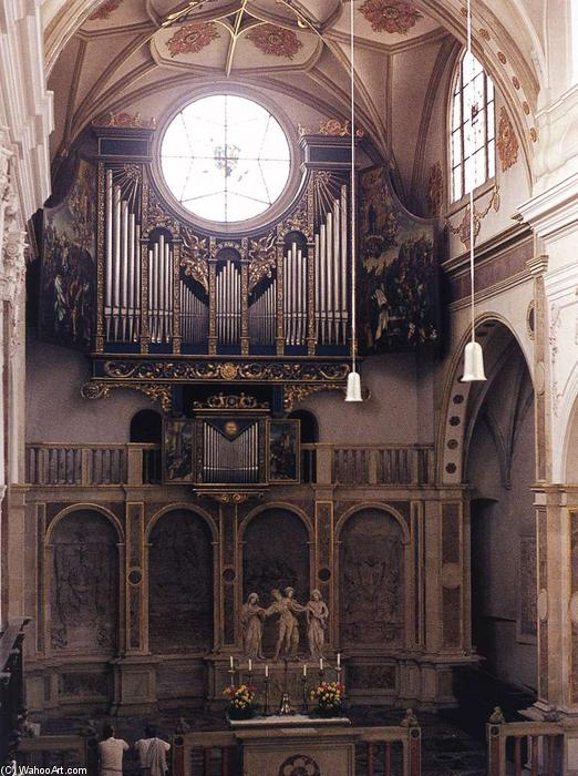 Fugger Chapel, 1509 von Jörg The Elder Breu (1475-1537, Germany)