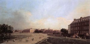 Giovanni Antonio Canal (Canaletto) - London: die Old Horse Guards von St. James Park
