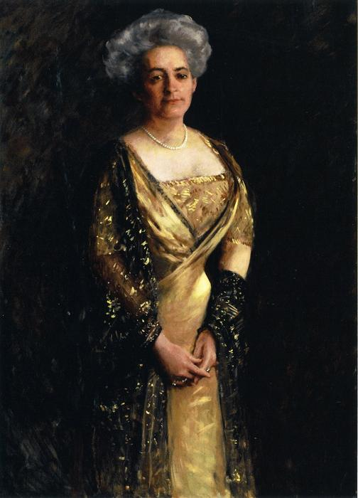 Frau . charles scott , Jr ., 1909 von William Merritt Chase (1849-1916, United States) | ArtsDot.com
