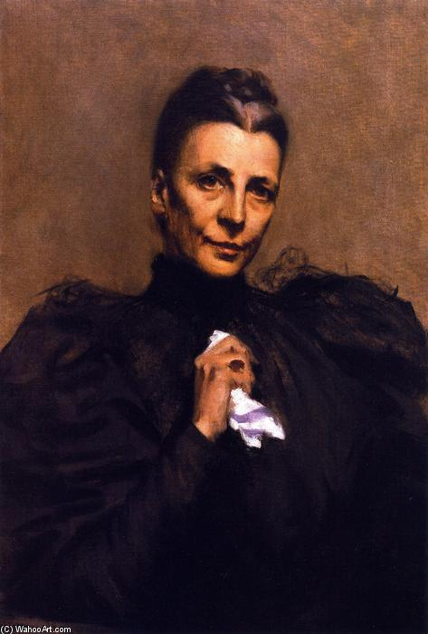 Mrs. Union Samuel Betts Lawrence, öl auf leinwand von William Merritt Chase (1849-1916, United States)