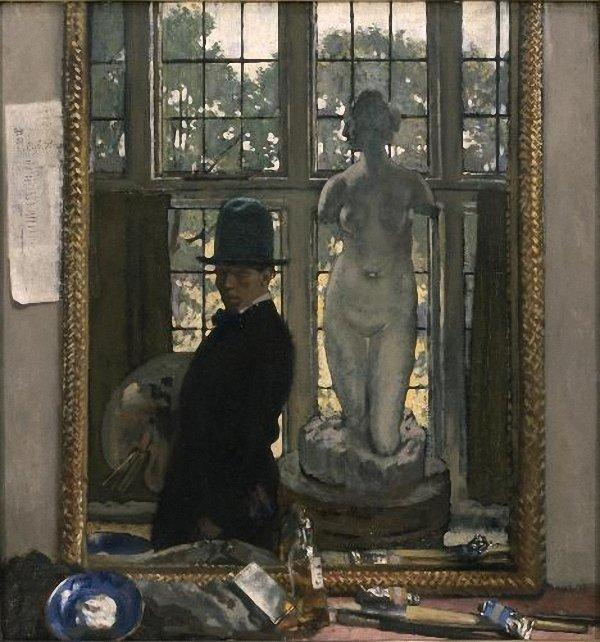 Myself and Venus, 1910 von William Newenham Montague Orpen (1878-1931, Ireland)