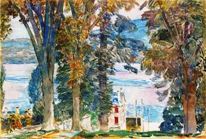 Frederick Childe Hassam - Newburgh, New York