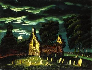 Thomas Chambers - Old Sleepy Hollow Kirche
