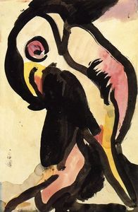 Georges Rouault - Papagei