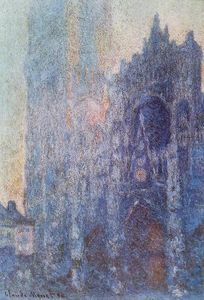 Claude Monet - das Portal und die Tour d Albane at Dawn