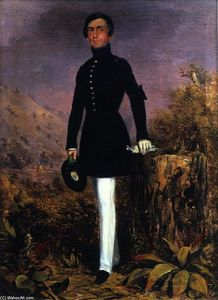 Charles Deas - Portrait of Lieutenant Henry Whiting