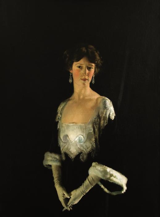 Porträt von Rosie, Fourth Marquise von Headfort von William Newenham Montague Orpen (1878-1931, Ireland)