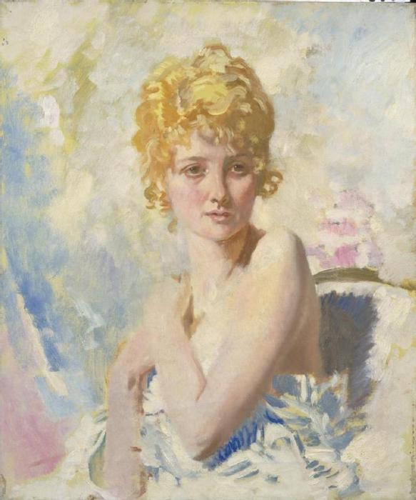 Der Flüchtling von William Newenham Montague Orpen (1878-1931, Ireland)