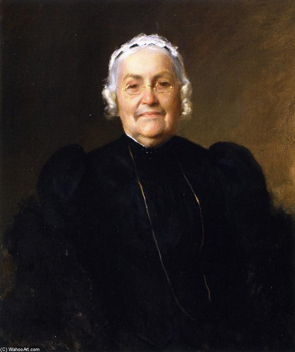 Sarah Redwood Parrish, 1893 von William Merritt Chase (1849-1916, United States) | ArtsDot.com