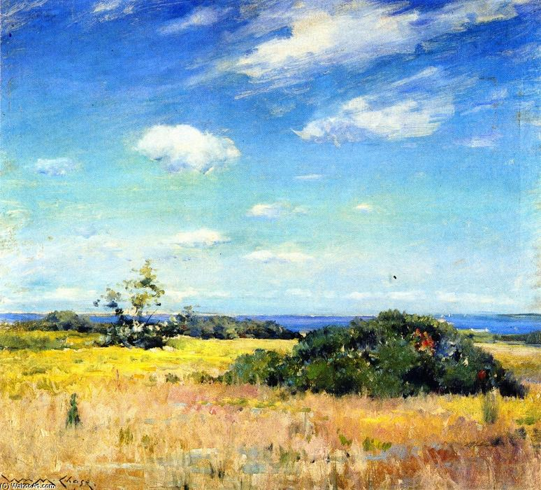 Shinnecock Landschaft, öl auf leinwand von William Merritt Chase (1849-1916, United States)