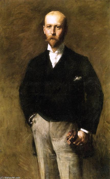 William Charles Le Gendre, öl auf leinwand von William Merritt Chase (1849-1916, United States)