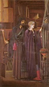 Edward Coley Burne-Jones - Der Zauberer