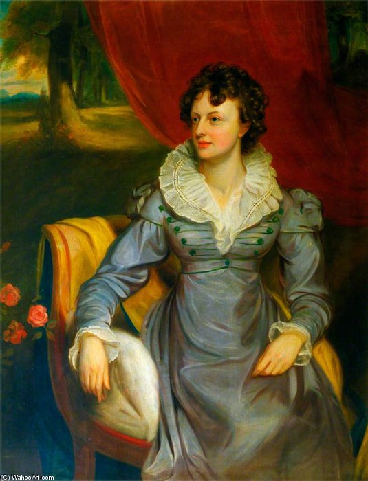 Mrs Elrington von Thomas Clement Thompson