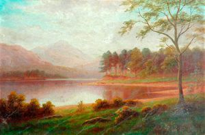 William Mellor - Browmill Point, Derwentwater, ..