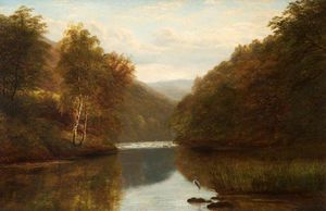 William Mellor - On The Dee Zu Llangollen