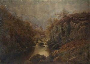 William Mellor - auf dem Lledr , norden wales
