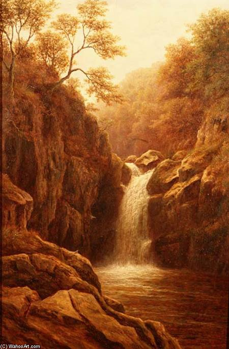 Pecca Foss von William Mellor (1851-1931, United Kingdom)