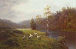 William Mellor - Fluss Wharfe