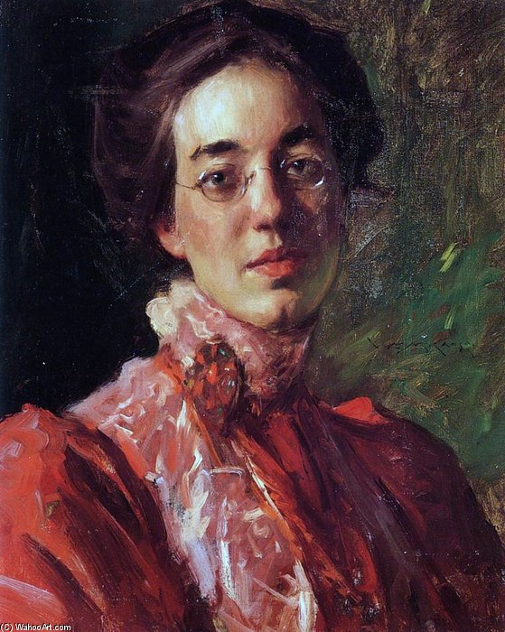 Elizabeth Fisher von William Merritt Chase (1849-1916, United States) | ArtsDot.com