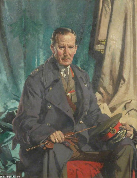 General Sir John S. Cowans von William Newenham Montague Orpen (1878-1931, Ireland)