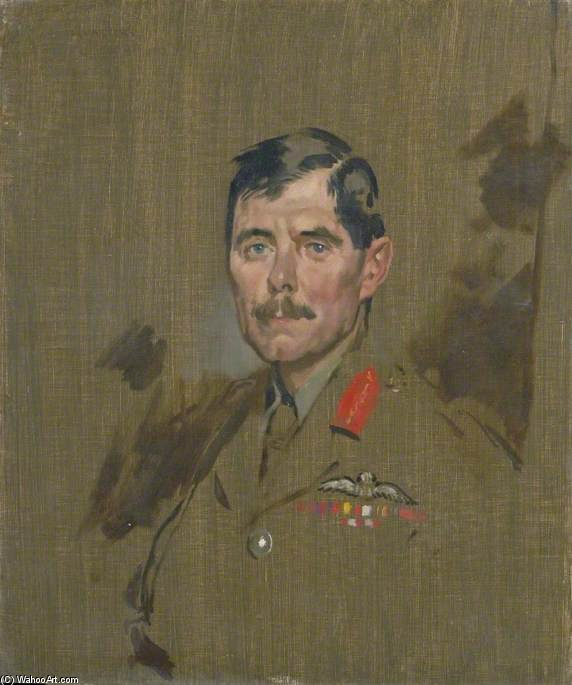 Major General Hugh M. Trenchard von William Newenham Montague Orpen (1878-1931, Ireland)