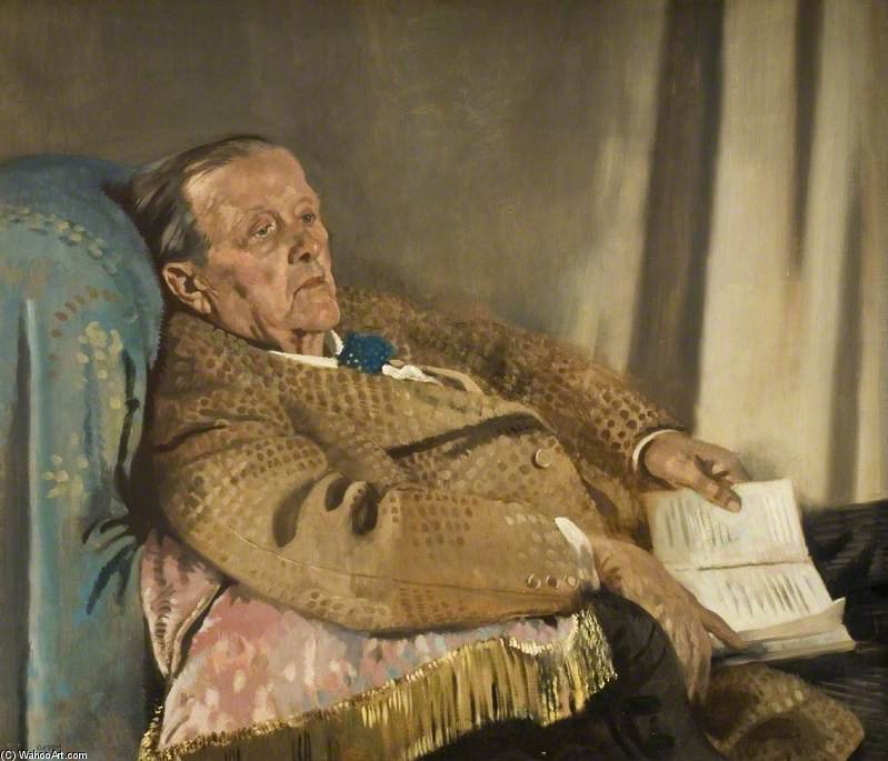 Sir Edwin Ray Lankester von William Newenham Montague Orpen (1878-1931, Ireland)