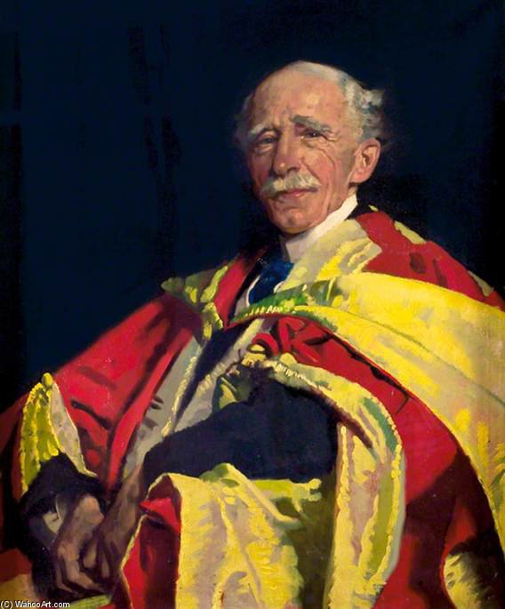 Bestellen Handgemaltes Ölgemälde Sir J. Ambrose Fleming von William Newenham Montague Orpen (1878-1931, Ireland) | ArtsDot.com | Bestellen Handgemachte Malerei Sir J. Ambrose Fleming von William Newenham Montague Orpen (1878-1931, Ireland) | ArtsDot.com