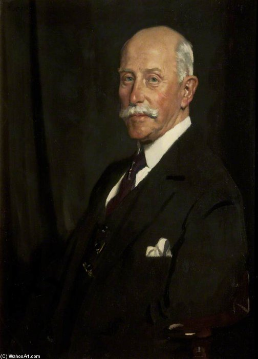 Sir John Rutherford von William Newenham Montague Orpen (1878-1931, Ireland) | ArtsDot.com