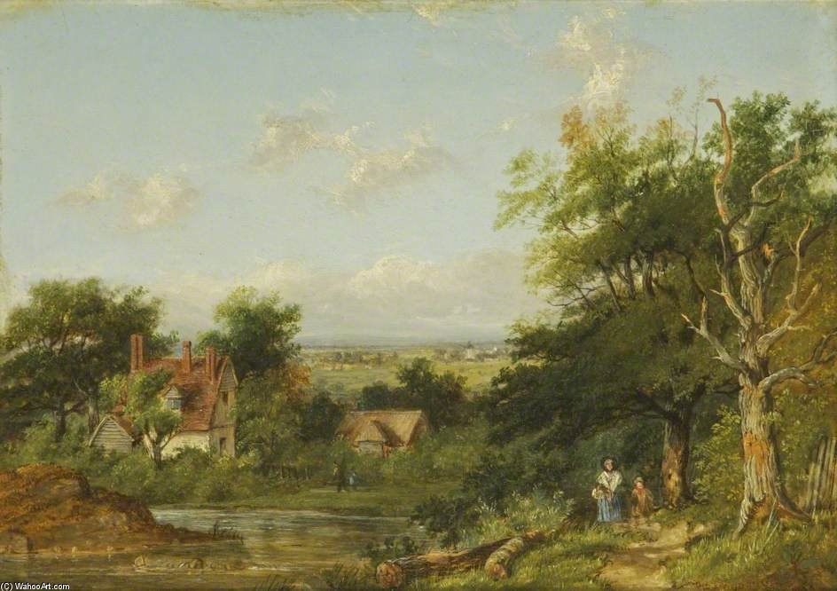 Blick In Sussex von Patrick Nasmyth (1787-1831, United Kingdom)