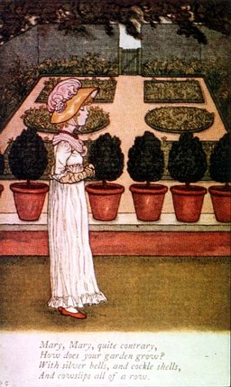 April Babys Book Of Tunes von Kate Greenaway (1846-1901, United Kingdom)