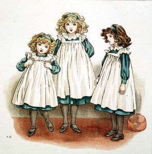 Kate Greenaway - Aber Flinders Foots waren kalt