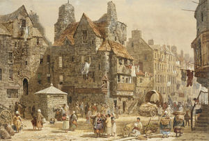 Louise Rayner - John Knox House, Edinburgh