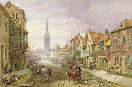 Salisbury von Louise Rayner (1832-1924, United Kingdom)