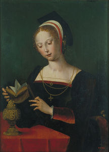 Master Of The Parrot - heiliger mary magdalena